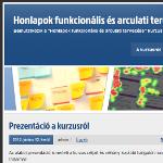 Honlapok funkcionális és arculati tervezése portál